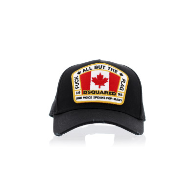 Dsquared2 Hats Dsquared2 fuck the flag cap